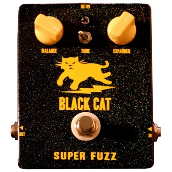 Black Cat Super Fuzz Pedal
