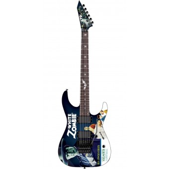 Guitarra LTD Kirk Hammett White Zombie