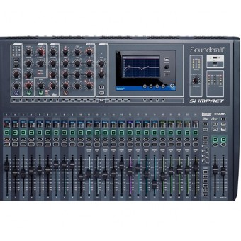 Mixer SoundCraft 32 Canales Si Impact